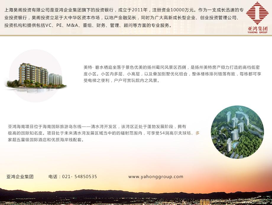 亚鸿企业集团aoa体育网站建设项目